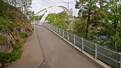 The Svindersvik Bridge in Stockholm (Franz Airiman) Tags: svindersviksbron svindersvikbridge kvarnholmen stockholm nacka sweden scandinavia bridge bro 20170611 june112016