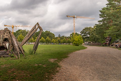 The moment you realize it #3 (Markus Lehr) Tags: cranes ufa cinema monster path themepark manmadelandscape potsdam germany markuslehr
