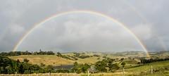 Hayters Hill (dustaway) Tags: rainbow landscape weather australianweather haytershill northcoast nsw australia