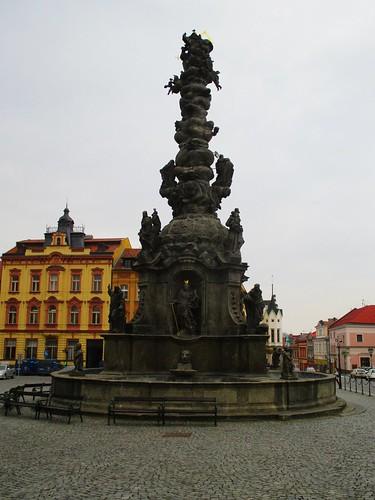 Resselovo náměstí - Mariánský sloup