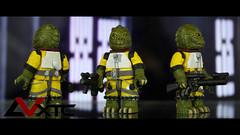 Bossk (AndrewVxtc) Tags: lego star wars custom bounty hunter bossk minifigure sculpted painted andrewvxtc