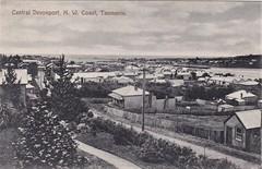 Central Devonport, Tasmania - 1908 (Aussie~mobs) Tags: vintage tasmania australia 1908 township devonport