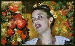 Sicily sings - Luglio-2017 (agostinodascoli) Tags: art digitalart digitalpainting cianciana sicilia cantante folk agostinodascoli creative photoshop photopainting colore fullcolor impressionismo