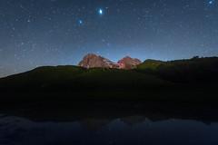 Milkless sky at Gran Sasso (luigig75) Tags: stars night nightscape nightskyphotography mountains abruzzo pratiditivo gransasso parconazionaledelgransassoemontidellalaga canon 70d canonefs1022mmf3545usm italia italy long exposure