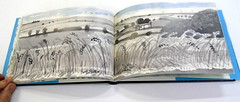 David Hockney, A Yorkshire Sketchbook - DSC01406 (Dona Minúcia) Tags: davidhockney ayorkshiresketchbook art drawing painting handbook journeybook artwatercolor arte pintura caderno landscape desenho aquarela cadernodeviagem paisagens registro