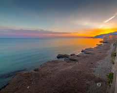 SUNSET II (Michele Naro) Tags: sunset trapani sicily sicilia sizilien sicile sea samyang14mmf28 see nikon nikond610 italien italy italia italie iamnikon