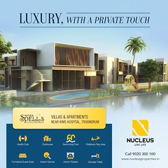 Quality blended with convenience, Nucleus Spells located near KIMS Hospital, Trivandrum have everything for a lifestyle of luxury!  Visit us on www.nucleusproperties.in  #Kerala #Trivandrum #India #LuxuryHomes #Architecture #Home #Construction #City #Eleg (nucleusproperties) Tags: beautiful life livelife elegant style trivandrum kerala realestate lifestyle india luxury villa comfort apartment nature luxuryhomes architecture interior gorgeous design elegance environment beauty building exquisite view city construction atmosphere home