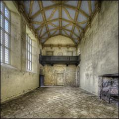 Kirby Hall interior 3 (Darwinsgift) Tags: kirby hall northamptonshire english heritage stately house home nikkor 19mm f4 pc e tilt shift nikon d810 multiple exposure hdr photomatix history elizabethan tudor architecture