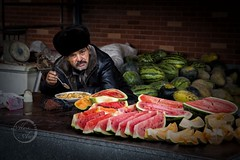 Melons - Faces of Xinjiang