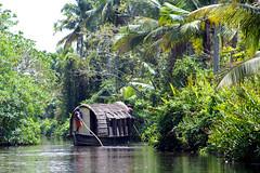 Boathouse (Shrimaitreya) Tags: kerala backwaters southindia india nature peace