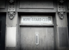 Home Guard Club, Harrogate (Tony Worrall) Tags: uk update place location visit attraction open england english british unitedkingdom stream tour county country capture outside outdoors caught photo shoot shot picture captured yorkshirephotos east eastern northyorkshire yorks yorkshire harrogate town homeguardclub home guard club door doorway portal relic