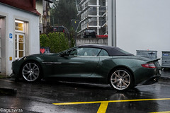 Aston Martin Vanquish Volante (aguswiss1) Tags: astonmartinvanquishvolante aston martin vanquish volante supercar sportscar fastcar racer cruiser convertible cabrio cabriolet roadster dreamcar greencar