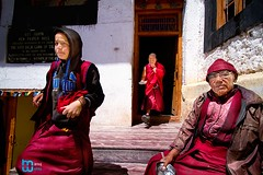 Generations of Lamas (manuj mehta) Tags: monastery monks spiti valley incredible india people red robe buddhist tibetian young kaza kalpa himachal pradesh himalayan ranges photography lonely planet travel unexplored discover amazingshot amazing peace key dhankar gompa