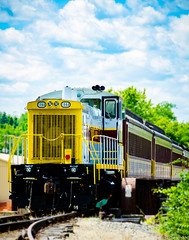Train at Milton Bicentennial 2017 (charlie_guttendorf) Tags: guttendorf miltonpa nikon nikon18200mm nikond7000 summer train centralpa engine outdoors outside
