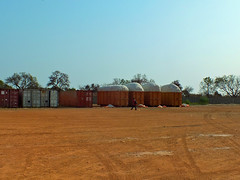 Cotton containers (CIFOR) Tags: africa shippingcontainer dry householdexpenditure householdincome pulpandpaperindustry income nontimberforestproducts ecosystemservices dryforests storage povertyalleviation economicimpact horizontal cifor harvest