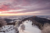 Winter Sunset (jochenbuehler) Tags: burghohenzollern schwäbischealb castle hohenzollern germany sunset clouds hill