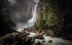 Yosemite Falls through the Mist - Explored (PrevailingConditions) Tags: yosemite yosemitenationalpark nps ca california landscape waterfall yosemitefalls yosemitevalley rocks trees river water forest creek