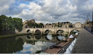 Roma - Riflessi del Tevere