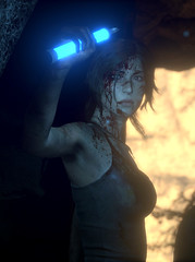 Exploring the Tombs (Gothicpolar) Tags: rise of the tomb raider pc game lara croft scenery scene cool