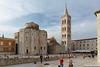 2000 anys d'història a Zadar: el fòrum romà, l'església pre-romànica, la Catedral, els turistes.