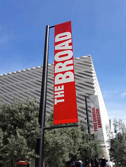 Museum, The Broad, Pole Banner