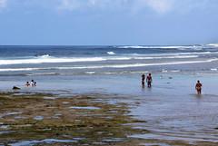 NusaDua beach (MelindaChan ^..^) Tags: bali indonesia 印尼 巴里島 nusadua beach water wave play chanmelmel mel melinda melindachan life people