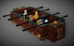Lego Foosball - classic space edition (adde51) Tags: adde51 lego moc foosball table foosballtable football soccer ideas legoideas pub steampunk classic space classicspace
