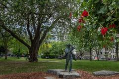 James McGill (Eileen NDG) Tags: canada june montreal mcgill university campus statue publicart