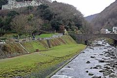 Lynmouth, North Devon - Jan 2017 (Dis da fi we (was Hickatee)) Tags: lynmouth devon west lyn east villages lynton cliff railway south coast path thomas gainsborough sillery sands percy bysshe shelley queenmab