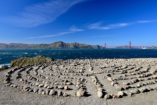 Lands End labyrinth|Mile Rock Beach, San Francisco