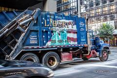 Rubbish removal, New York (NightFlightToVenus) Tags: newyork truck manhanttan rubbish removal usa unitedstatesofamerica etatunis ngc