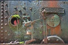 Rusting Train Engine 1356 A (jim.choate59) Tags: rust train trainengine decay steamengine snoqualmiewashington rivet jchoate on1pics metal steam d610
