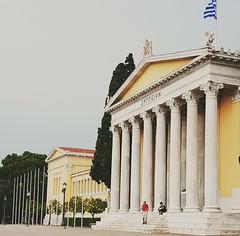 Ζάππειο (avasiliadis) Tags: zappeion athens yellow architecture