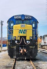 NERR 7082 at Nashville, TN (KD Rail Photography) Tags: ge generalelectric dash7 c307 csx qualityinmotion nashville nashvilleeastern nerr trains railroads transportation classiclocomotive winterseason winterweather tennessee railyard