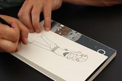 Max de Radiguès - Niort (Eva.Dbrg) Tags: dessin dédicace max radiguès orignal niort festival bd bulles bubble drawing sign autograph autographe shampoing