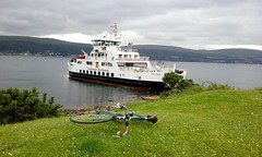 Flying Scot Group's Millport Ride. (Paris-Roubaix) Tags: loch shira ferry the flying scot bicycle group ride millport cumbrae ayrshire largs caledonian macbrayne vintage scottish racing bikes