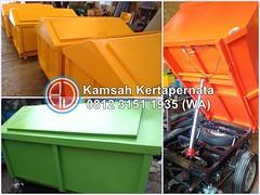 Keunggulan Kontainer Sampah Fiberglass FRP Anti Karat (Ramdhani Jaya) Tags: kontainer sampah news tong fiberglass