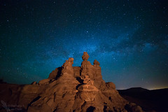 Hoodoo Milky Way (Squirrel Girl cbk) Tags: 2017 may utah recapturepocket entradasandstone hoodoos milkyway explore
