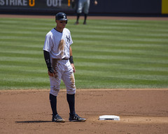 A very dirty Judge on 2nd (Mark Shallcross) Tags: yankees yankeestadium orioles baseball mlb 0f4a0283r10x8 judge aaronjudge