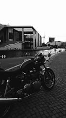 18th BCR City Run (=RetroTwin=) Tags: 170615 retrotwin triumph thruxton berlin kanzleramt motorrad motorcycle 2017 british twin retro vintage classic lostillusion75 900 cafe racers racer fernsehturm