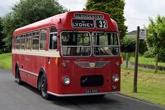 DAX 610C (markkirk85) Tags: wythall bus museum transport buses bristol mw6g ecw red white new 51965 u765 mw dax 610c dax610c