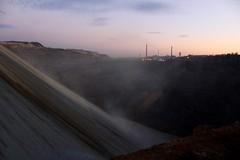 BOR COPPER MINE (cobalt_black) Tags: firstdslr amateurphotography sunsetsky terraforming landscape extraterrestrial surreal mine copper