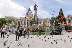 Plaza Murillo (takashi_matsumura) Tags: lapaz departamentodelapaz bolivia plaza murillo la paz ngc nikon d5300 architecture sigma 1750mm f28 ex dc os hsm navidad christmas