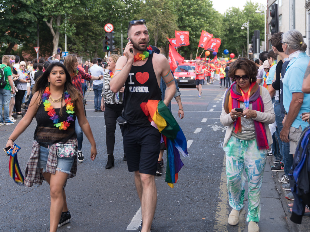 LGBTQ+ PRIDE PARADE 2017 [ON THE WAY FROM STEPHENS GREEN TO SMITHFIELD]-129993
