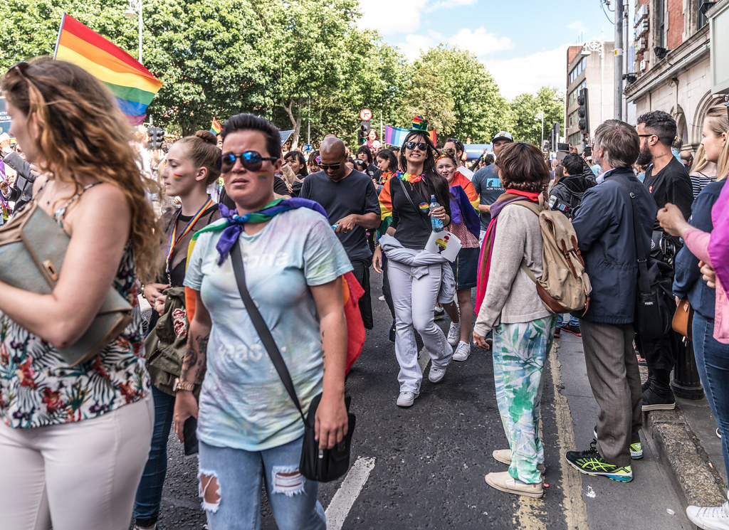LGBTQ+ PRIDE PARADE 2017 [ON THE WAY FROM STEPHENS GREEN TO SMITHFIELD]-130158