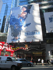 Valerian and the City of a Thousand Planets Billboard Poster 7947 (Brechtbug) Tags: valerian city thousand planets billboard poster times square nyc 2017 french science fiction comics series from 1967 valérian laureline written by pierre christin illustrated jeanclaude mézières film movie directed luc besson new york 06262017