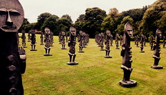 peace (BedBrochFlick) Tags: ysp yorkshire england uk museum outdoor outdoors outside 80 men statues cool wow