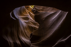 0246937067-89-Upper Antelope Canyon Arizona-18 (Jim There's things half in shadow and in light) Tags: canon5dmarkiv pagearizona sandstone tamronsp1530mmf28divcusdsens upperantelopecanyon vacation beautiful nature roadtrip