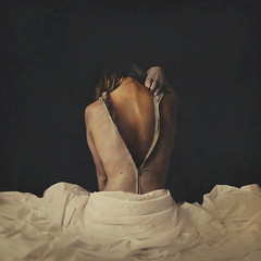 moth (brookeshaden) Tags: brookeshaden fineartphotography darkart darkphotography unzippingskin sheddingskin transformation metamorphosis moth