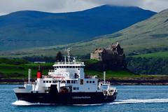 DSC_0079 (philpetty) Tags: highlands hebridean craignure scotland mull isleofmull seascape landscape sky cloud sea blue duart castle holiday vacation travel mountains wilderness ferry caledonian macbrayne